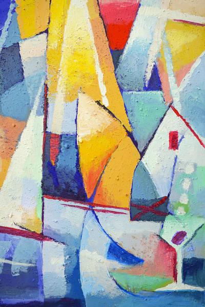 Painting - Joyful Living by Lutz Baar