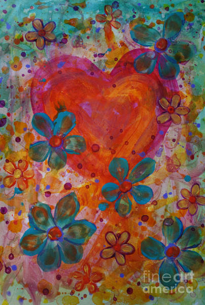Painting - Joyful Noise by Jacqueline Athmann