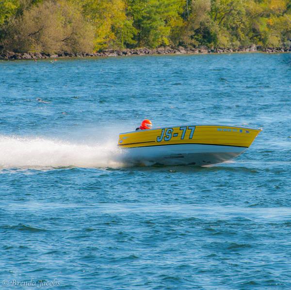 Photograph - Js-77 Jersey Skiffer by Brenda Jacobs