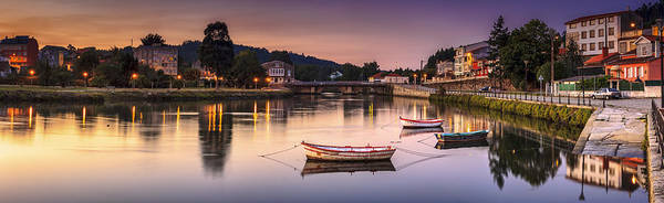 Photograph - Jubia River Panorama Neda Naron Galicia Spain by Pablo Avanzini