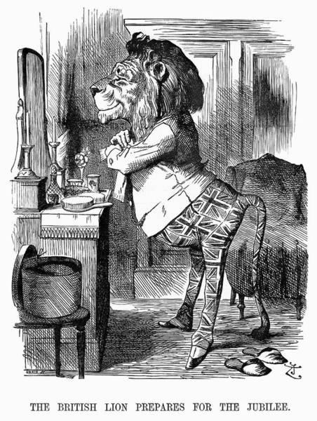 Painting - Jubilee Cartoon, 1887 by Granger