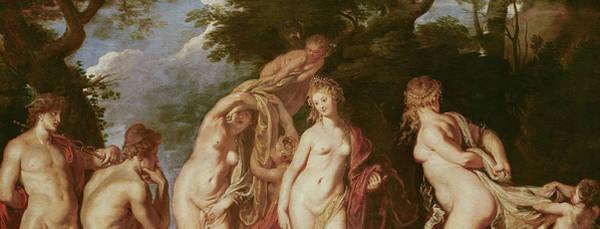 Judgement Wall Art - Painting - Judgement Of Paris by Peter Paul Rubens