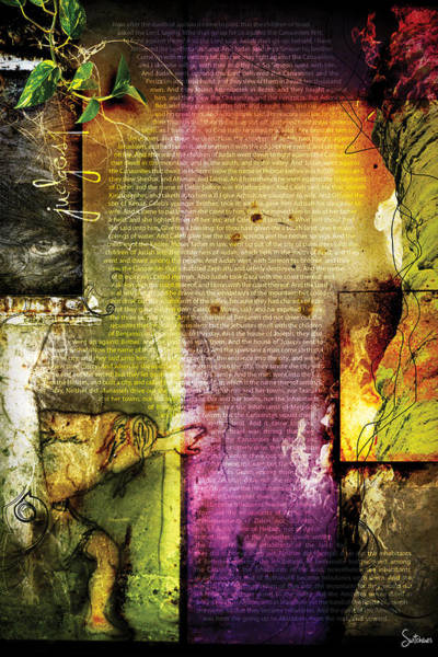 Sacred Heart Digital Art - Judges 1 by Switchvues Design