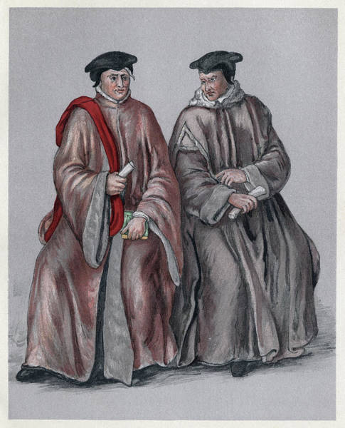 Wall Art - Painting - Judges, 16th Century by Granger