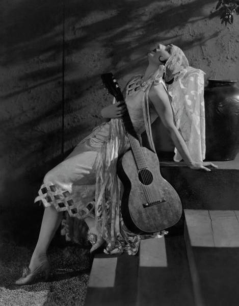 Wall Art - Photograph - Judith Anderson In The Dove by Edward Steichen