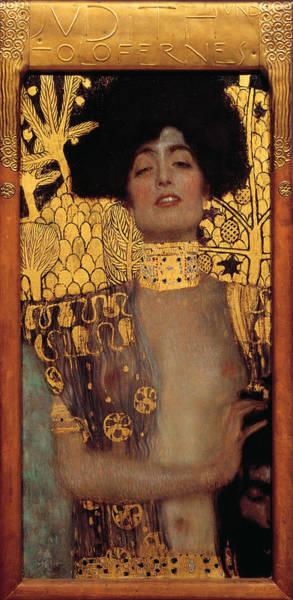Boudoir Digital Art - Judith by Gustive Klimt