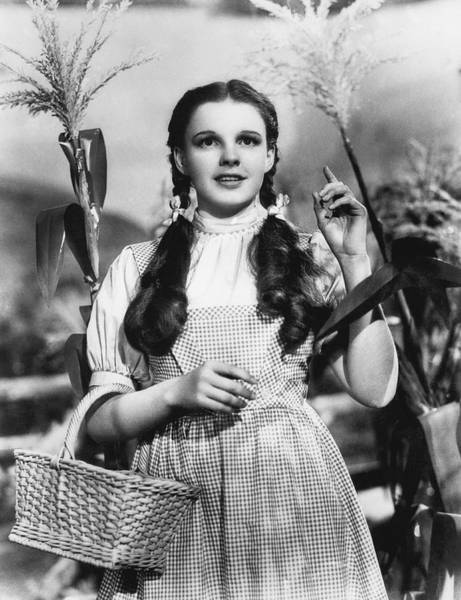 Movie Photograph - Judy Garland As Dorothy by Underwood Archives