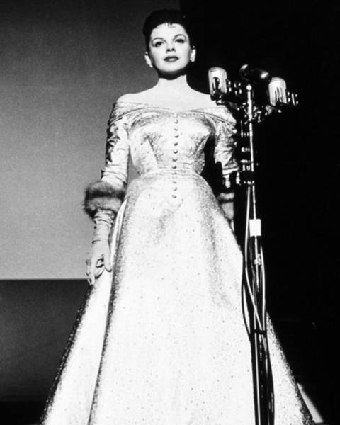 Film Star Photograph - Judy Garland In A Star Is Born  by Silver Screen