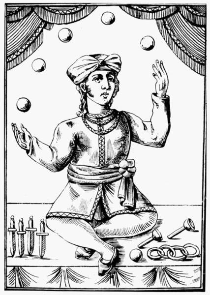 Painting - Juggler, 18th Century by Granger
