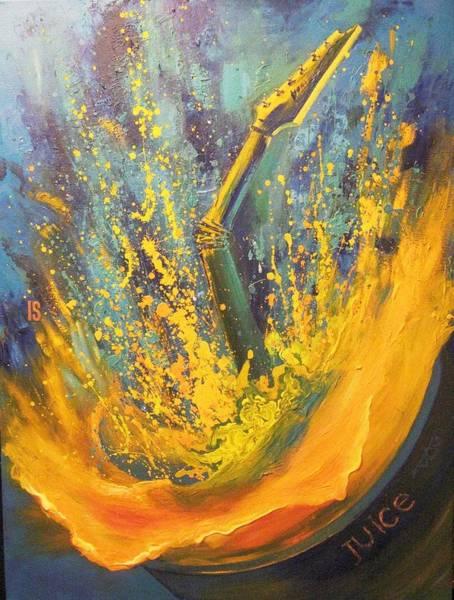 Steve Vai Painting - Juice by Irina Sergeyeva