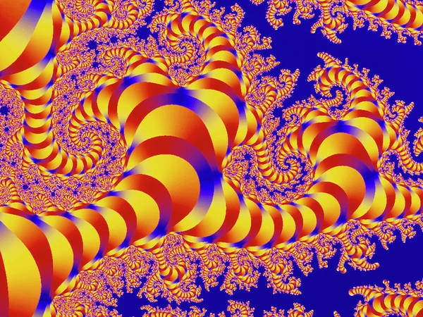 Photograph - Julia-set Fractal by Alfred Pasieka/science Photo Library