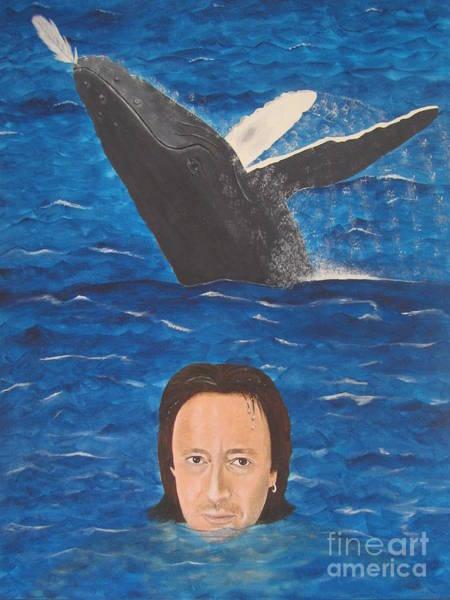 Wall Art - Painting - Julian Lennon by Jeepee Aero