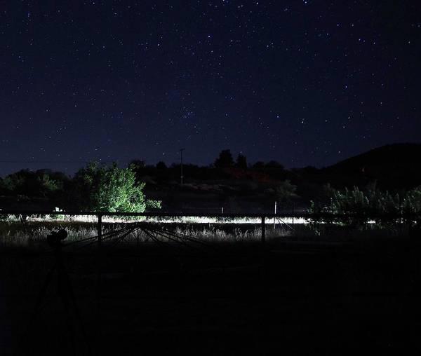 Photograph - Julian Night Sky by Phyllis Spoor