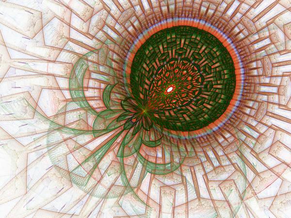 Julian Digital Art - Julia's World by Virginia Fred