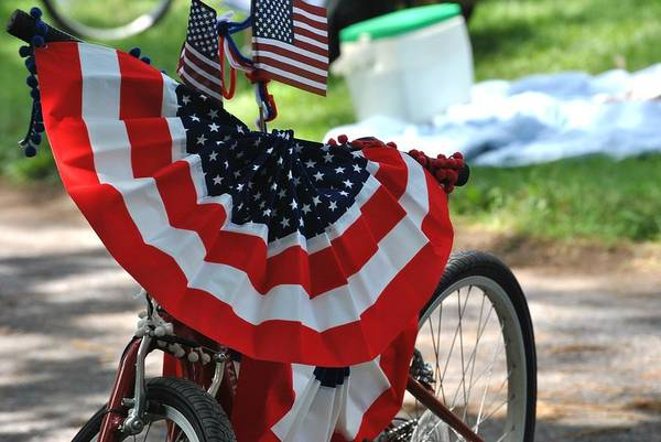 Photograph - July 4th Picnic by Keith Swango