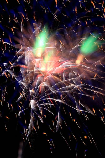Photograph - July Fireworks by David Dufresne