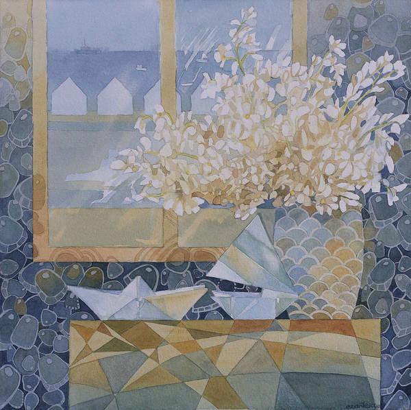 Origami Painting - July Morning by Ezartesa Art