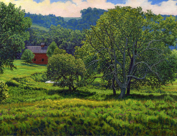 Painting - July Summer Mid Afternoon by Bruce Morrison