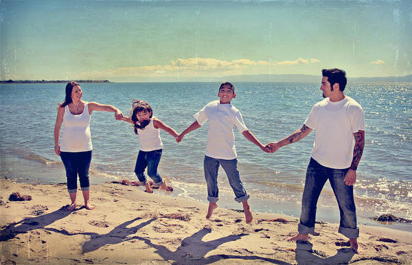 Parent Photograph - Jump For Joy by Laurie Search