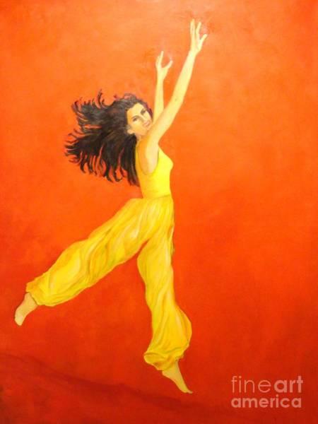 Jump In The Air Art Print