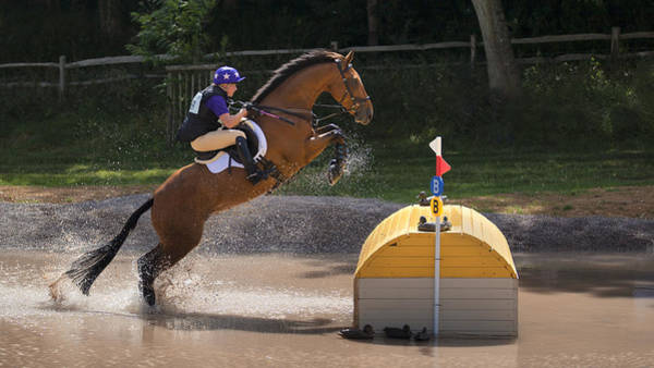 Athletic Photograph - Jumping The Duck House by Nigel Jones