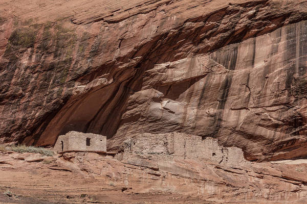 Wall Art - Photograph - Junction House Ruin, Canyon De Chelly by Phil DEGGINGER