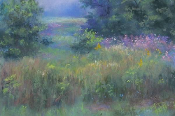 Pastel - June Meadow by Bill Puglisi