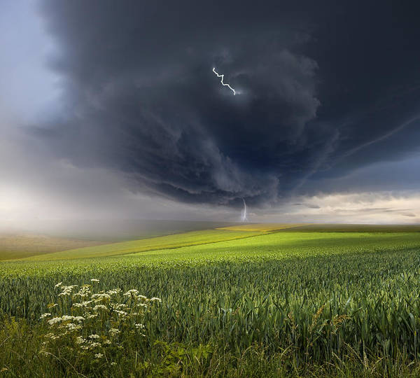 Storming Wall Art - Photograph - June Storm by Franz Schumacher