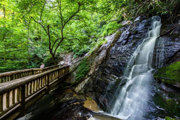 Photograph - Juneywhank Falls 2 by Randy Scherkenbach