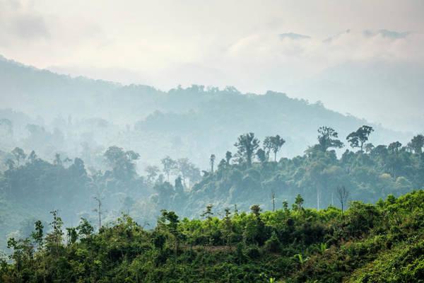 Quang Nam Province Photograph - Jungle Landscape Along Ho Chi Minh by Jason Langley