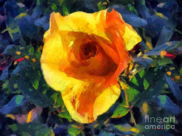 Painting - Jungle Rose by RC DeWinter