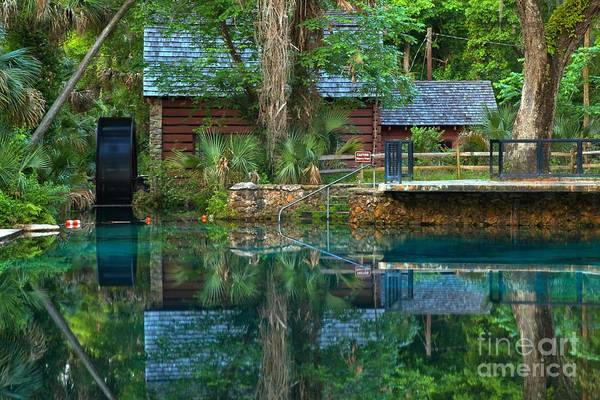 Photograph - Juniper Springs Mill House by Adam Jewell