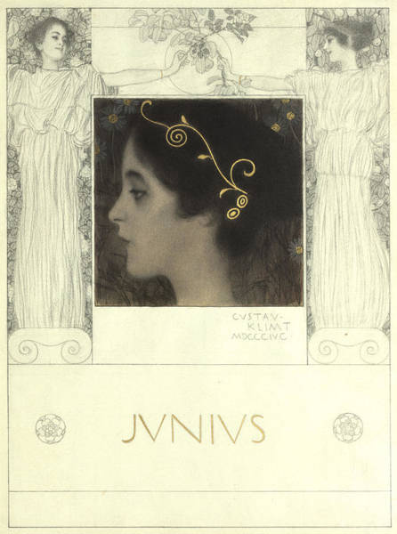 Painting - Junius by Gustav Klimt