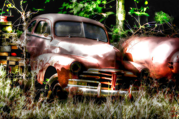 Photograph - Junk Yard by Pennie McCracken