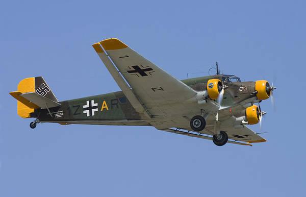 Photograph - Junkers Ju-52 by Adam Romanowicz
