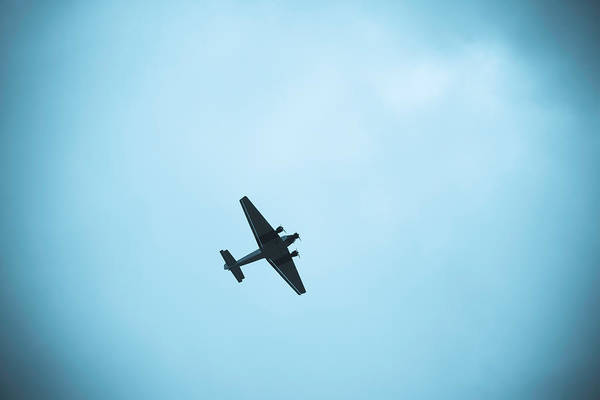 Ju-52 Wall Art - Photograph - Junkers Ju 52 Aircraft Flying by Panoramic Images