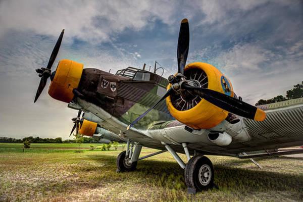 Ju 52 Wall Art - Photograph - Junkers Ju-52 by Bill Lindsay
