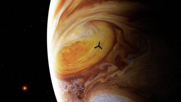 2010s Wall Art - Photograph - Juno Spacecraft At Jupiter by Nasa/jpl/bj�rn J�nsson/se�n Doran/science Photo Library