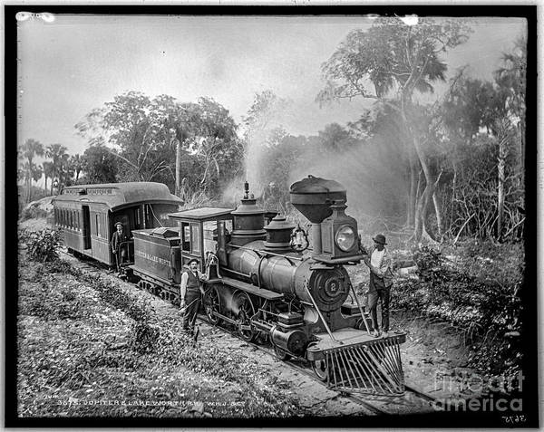 Photograph - Jupiter And Lake Worth Rr by Russell Brown