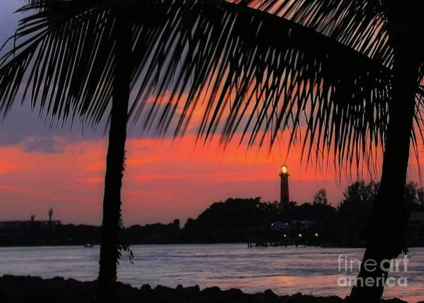 Photograph - Jupiter Inlet Sunset by Sabrina L Ryan