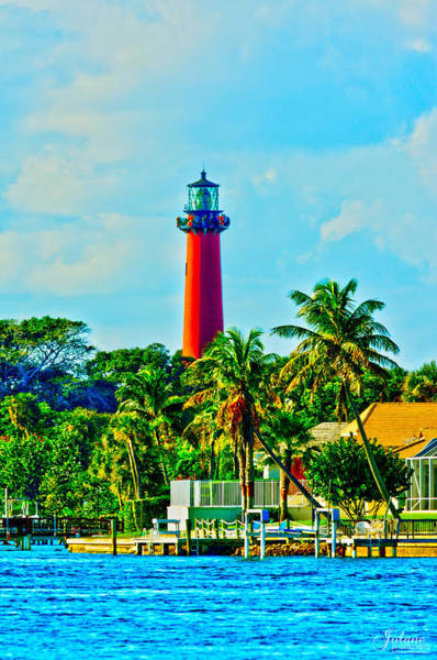 Photograph - Jupiter Lighthouse Winter by Jody Lane
