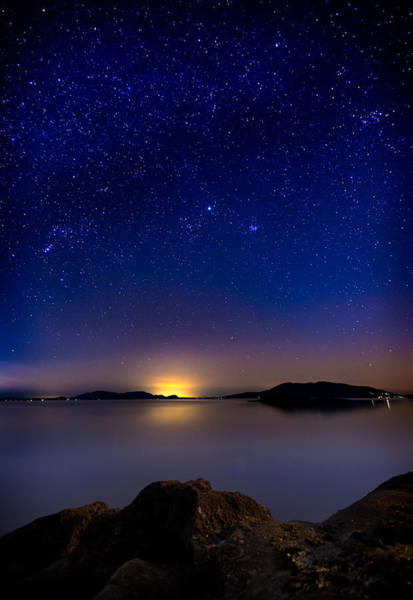 Photograph - Jupiter Over Wildcat Cove by Alexis Birkill