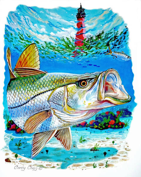 Jupiter Snook Art Print