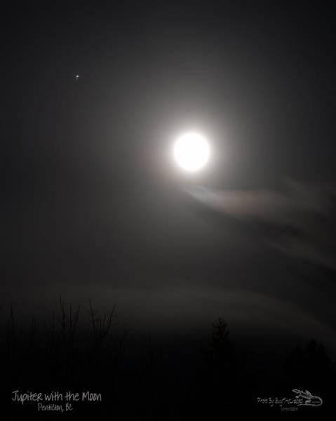 Jupiter With The Moon Art Print