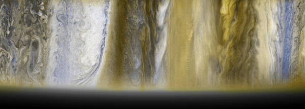Wall Art - Photograph - Jupiters Varied Surface Structures by Science Source