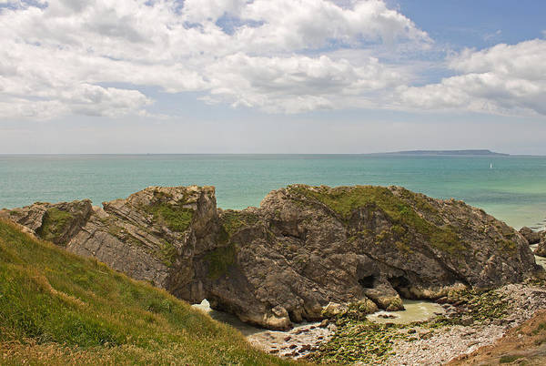 Photograph - Jurassic Coast At Lulworth by Tony Murtagh