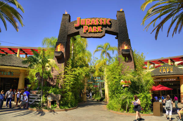 Entry Photograph - Jurassic Park by Ricky Barnard