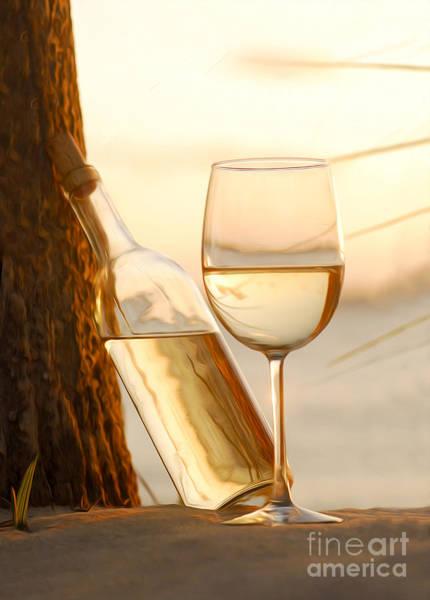 White Wine Photograph - Just A Beautiful Day by Jon Neidert