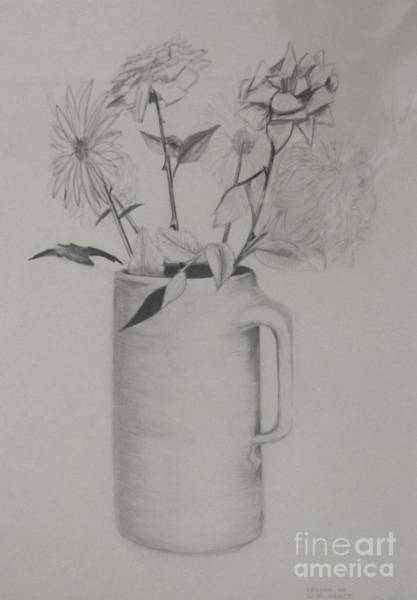 Drawing - Just A Moment In Time by David Neace