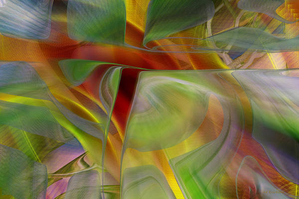 Photograph - Just A Touch Of Blue - Abstract Art by Roy Erickson
